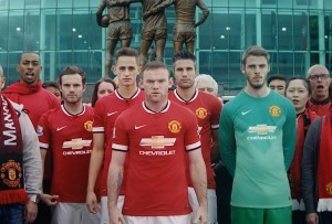 Chevrolet kicked off its sponsorship deal with Manchester United with a video debuting the team's new Bow Tie emblazoned jerseys.