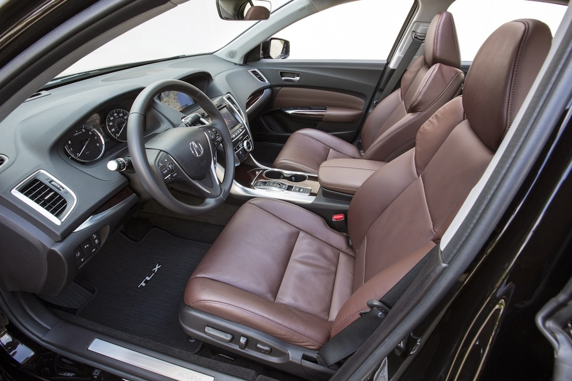 The Acura TLX Interior Provides The Luxury Appointments Expected In The  Segment. Photo
