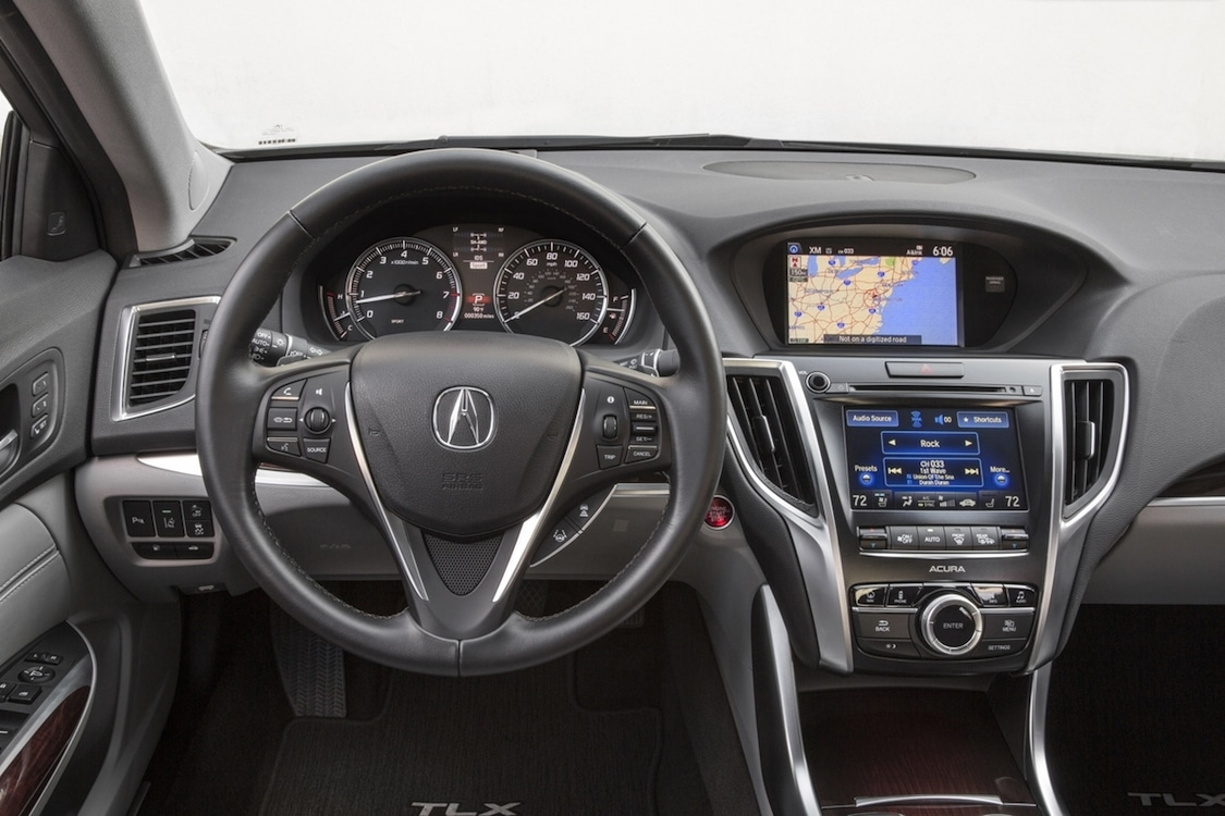 ... 2015 Acura TLX Interior V6. The TLX Instrument Cluster And Center  Console Puts All Of The Caru0027s Technology In Clear View Images