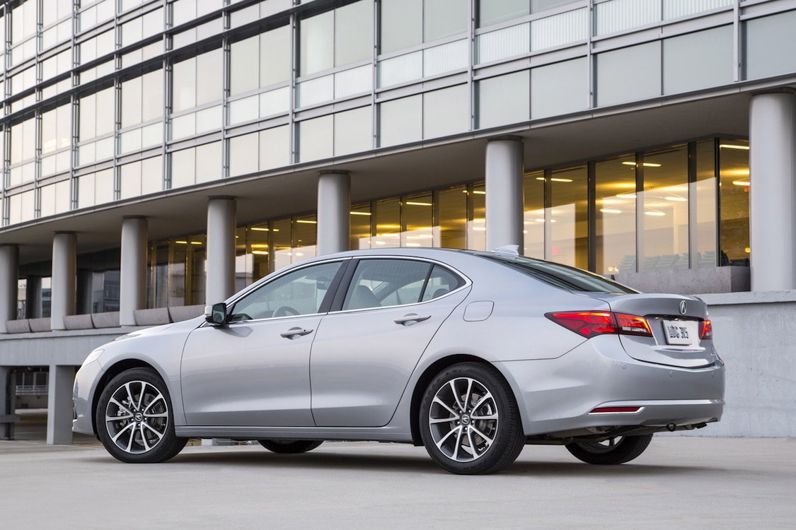 right sh acura notes front car tlx awd autoweek reviews article exterior advance review