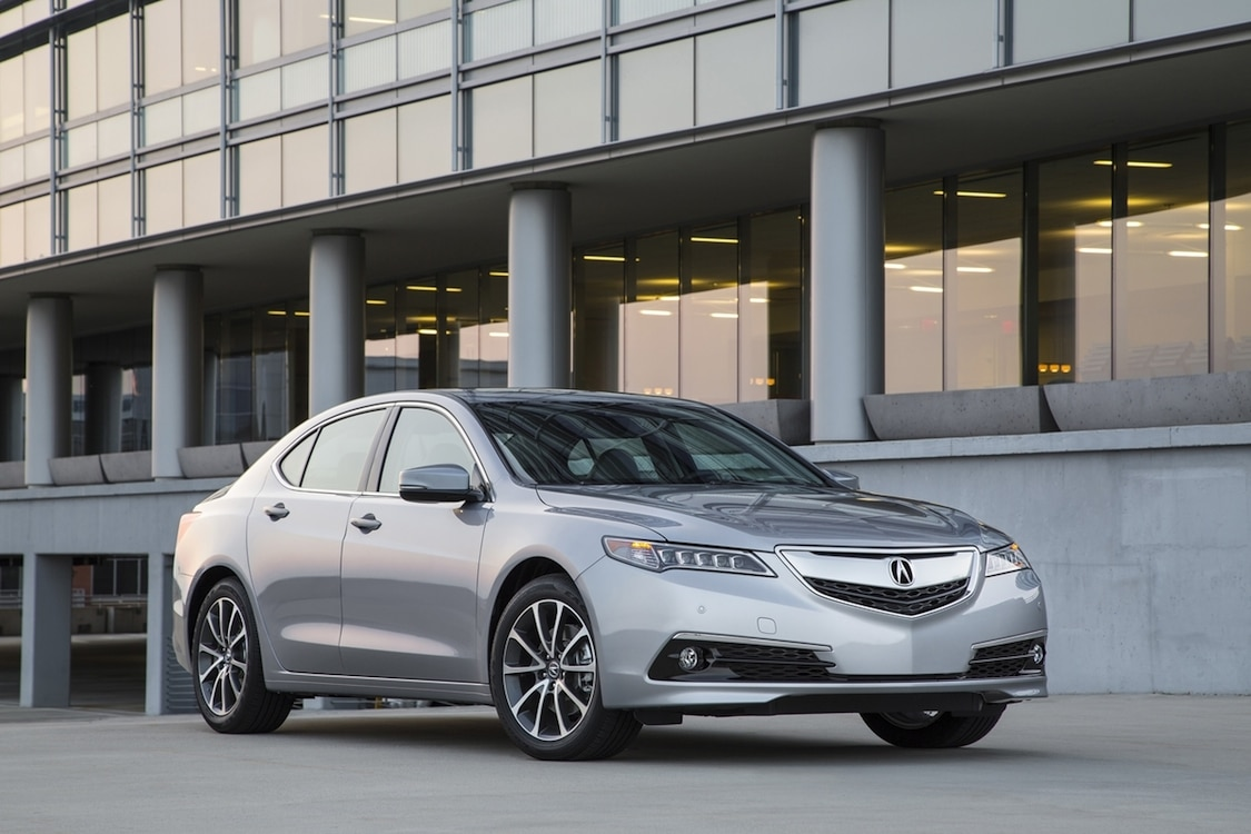 first drive 2015 acura tlx 2015 acura tlx exterior v6 sh awd. Black Bedroom Furniture Sets. Home Design Ideas