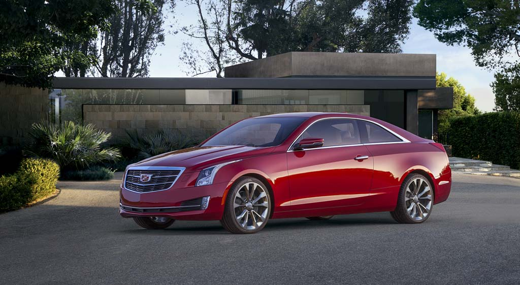 First Drive: 2015 Cadillac ATS Coupe