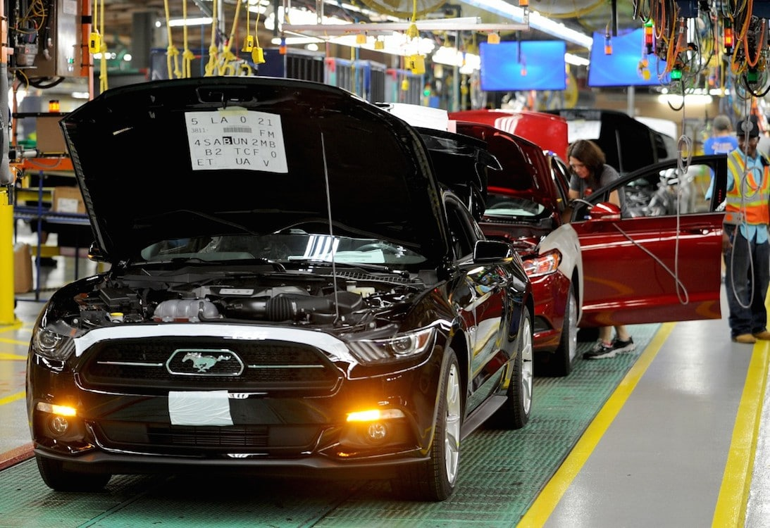 Ford Plant Readies to Meet Global Demand for Mustang