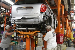 General Motors is planning to layoff some workers at its Spring Hill, Tennessee, plant to avoid accusing a glut of unsold new vehicles.