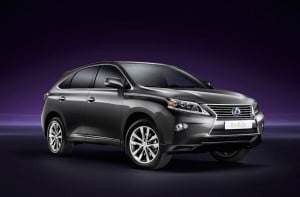Lexus ranked at the top of the J.D. Power Vehicle Dependability Survey thanks to vehicles like the RX450h.