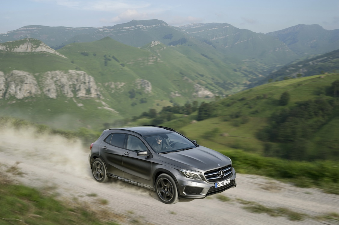Mercedes Hopes GLA Will Tap into Booming Compact Crossover Market