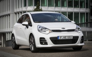 The 2015 Kia Rio debuts at the Paris Motor Show. The maker will have 23 vehicles on display at the show.