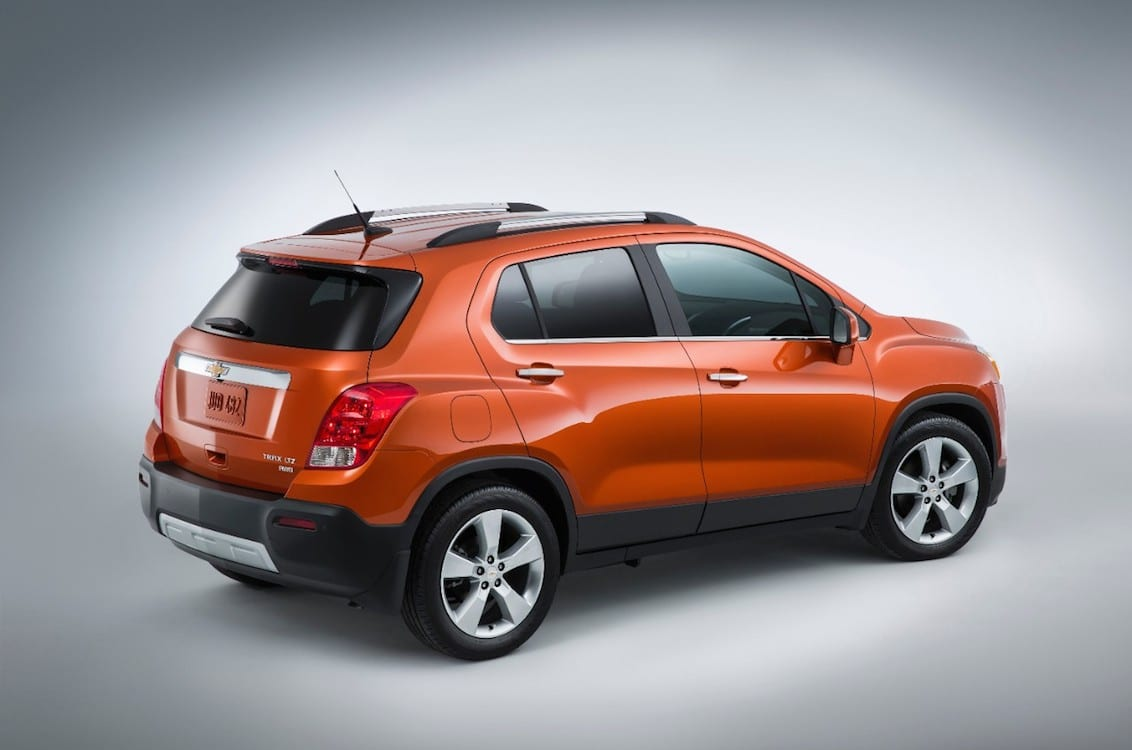 chevrolet making trax with new crossover 2015 chevy trax rear. Black Bedroom Furniture Sets. Home Design Ideas