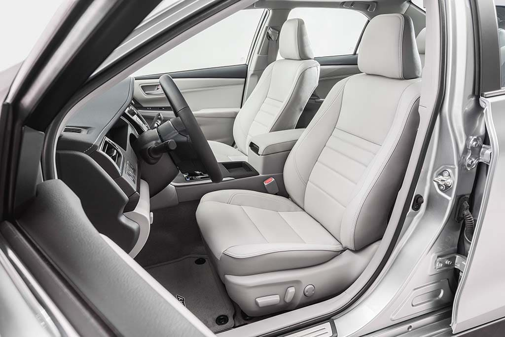 The New Camry Gets An Upgrade For Its Interior, Including Better Finishes.