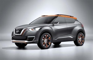 The new Nissan Kicks concept takes the Nissan Extrem from pure fantasy to a market position that is a little closer to reality.