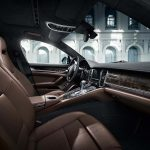 The interior of the Porsche Panamera Exclusive Series.