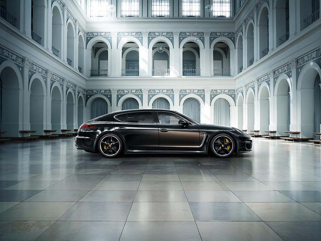 Porsche Pushes Into Bentley Territory with Panamera Exclusive Series