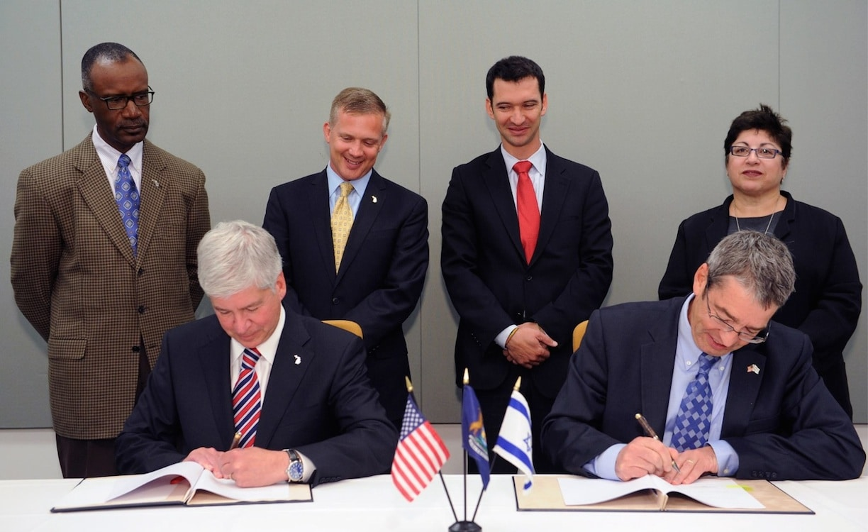 Michigan, Israel Join Forces in Advancement of Autos
