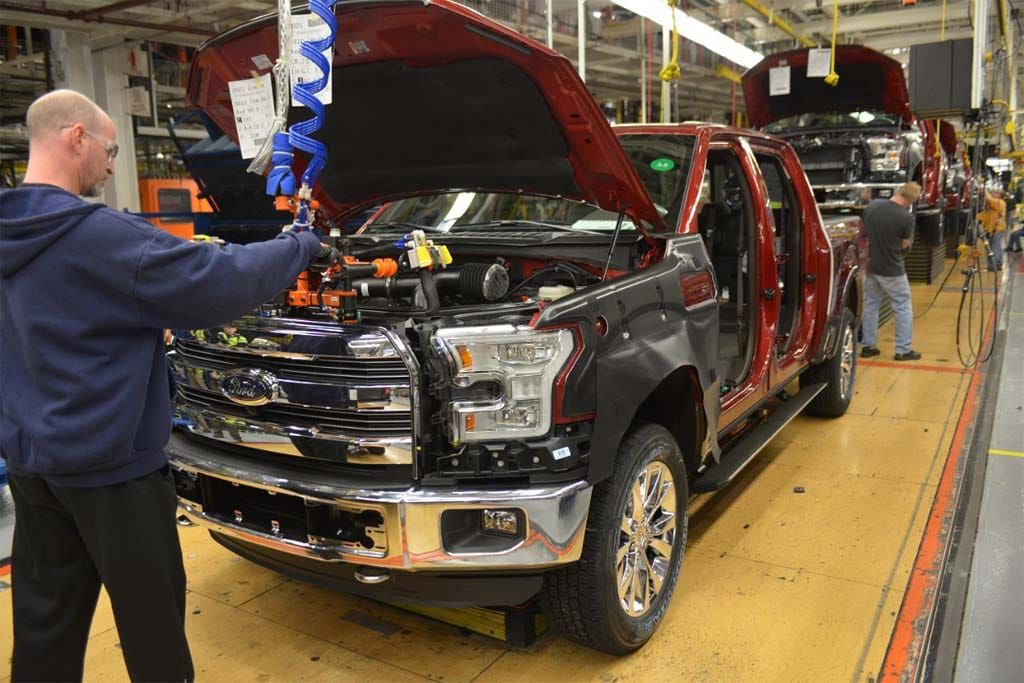 new car launches june 2014Ford Launches Production of New Aluminum F150 2015 Ford F150