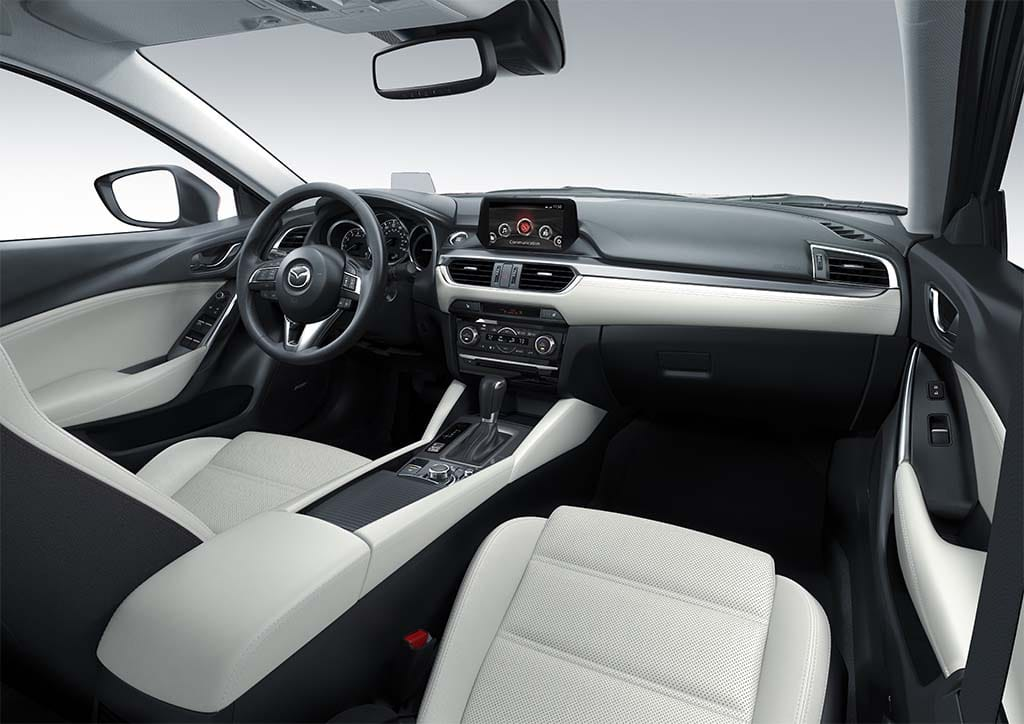 Marvelous The New Mazda6 Gets A New Dashboard, Which Gives The Driver The Sense Of  Openness
