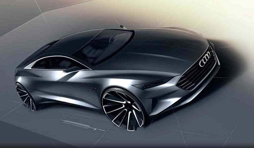 audi a9 renderings reveal new grand touring coupe audi a9 rendering. Black Bedroom Furniture Sets. Home Design Ideas