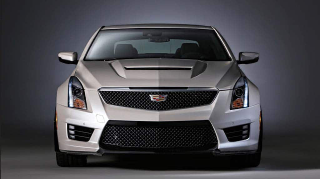 Cadillac reveals its new ATS-V muscle car.