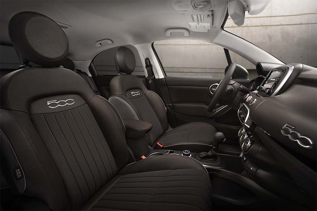 The 500X Gets Five Different Trim Levels With The Interior Getting Uconnect  6.5 Radio With A