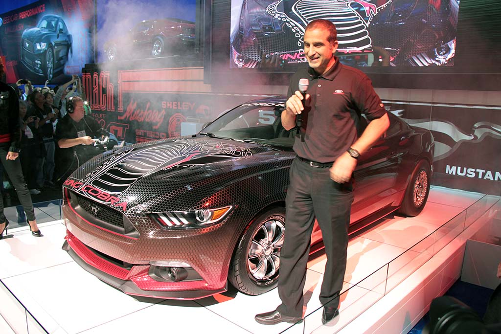ford harkened back to another era with the debut of its king cobra mustang - Ford Mustang King Cobra 2015