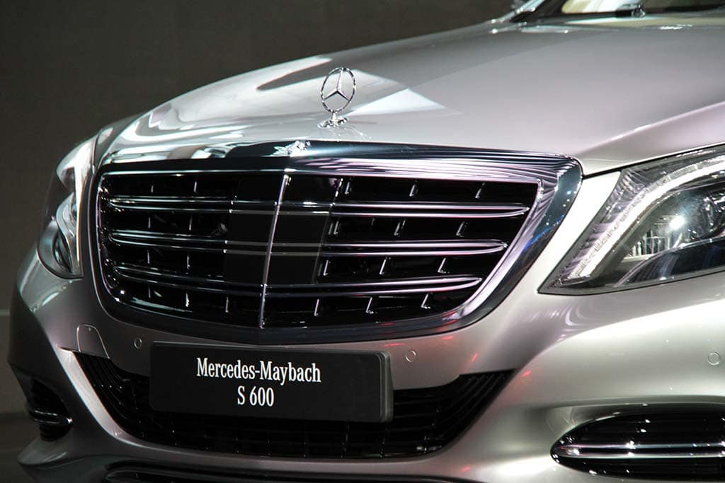 mercedes maybach s600 grille and thedetroitbureau