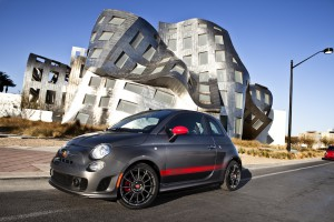 The 2015 Fiat 500 Abarth edition.