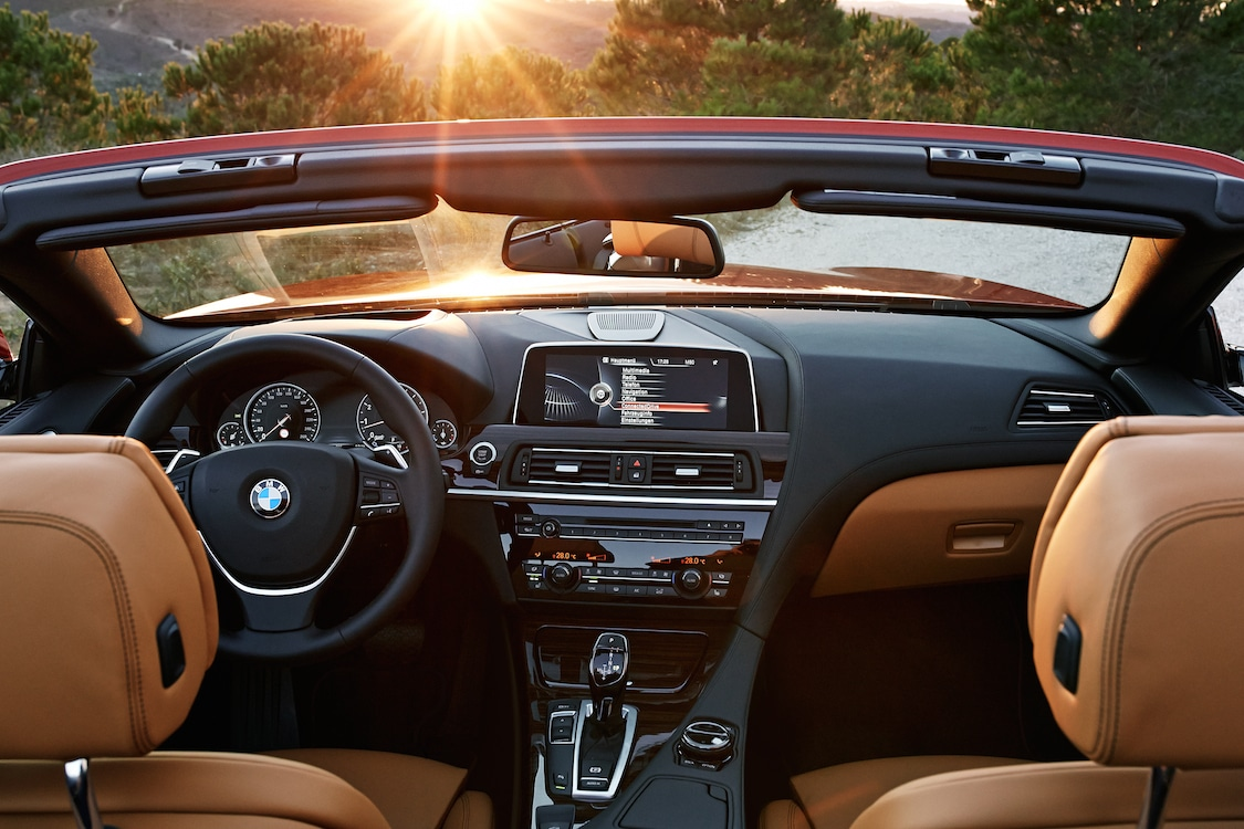 BMWs Interior Features An Updated Infotainment System And Head Up Display Active Cruise Control