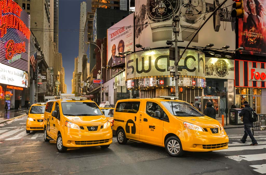 Nissan's Taxi of Tomorrow Gets Go for Big Apple Debut