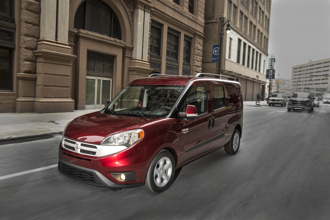 Fiat Chrysler Stakes Claim in Van Market with ProMaster