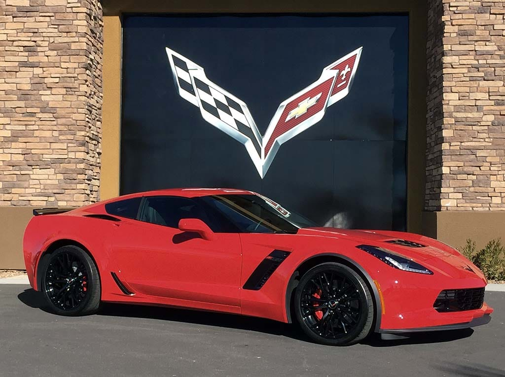 long popular red shown here on a chevrolet corvette z06 has lost some of - Corvette 2015 Z06 Red
