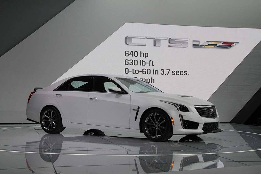 Live From The Detroit Auto Show 2016 Cadillac Cts V