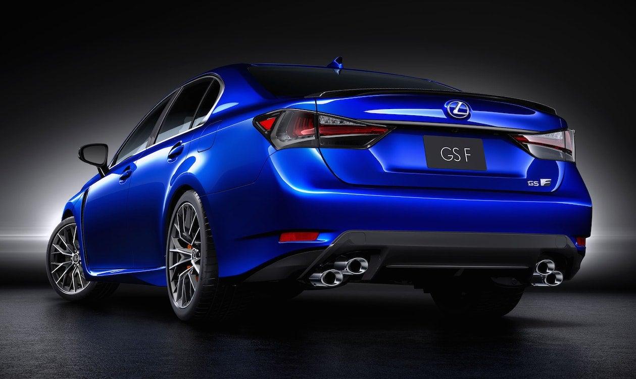 Lexus Confirms Detroit Launch of GS F Performance Sedan 2016 Lexus ...
