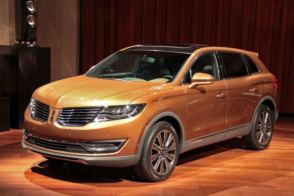 On The Lincoln Side 2016 Mkx Will Be First To Get New