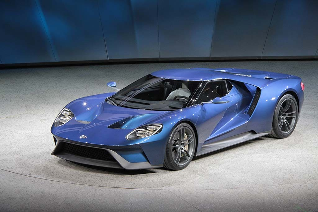 The New Ford Gt Is Expected To Do Zero To  Mph In About Three Seconds