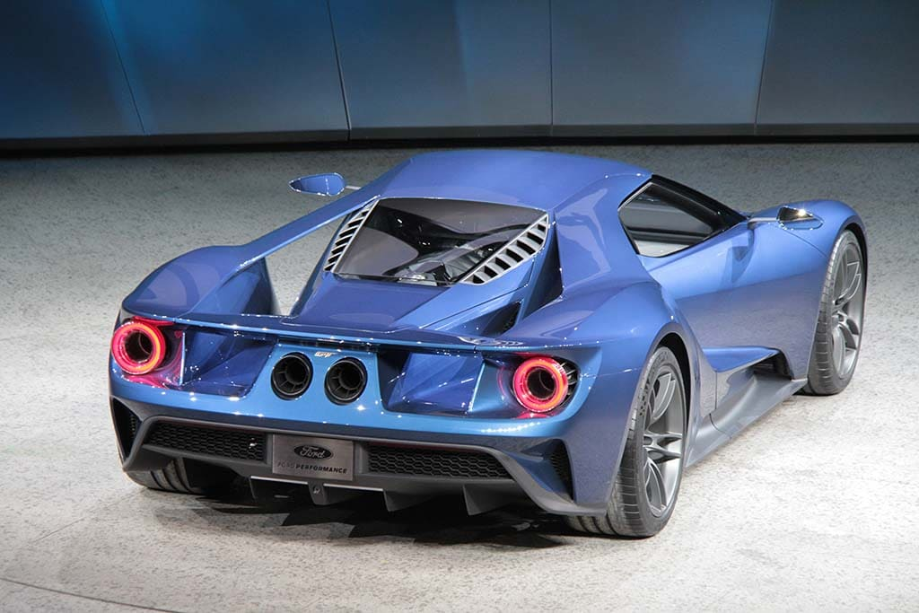 The New Ford Gt Will Make Over  Hp