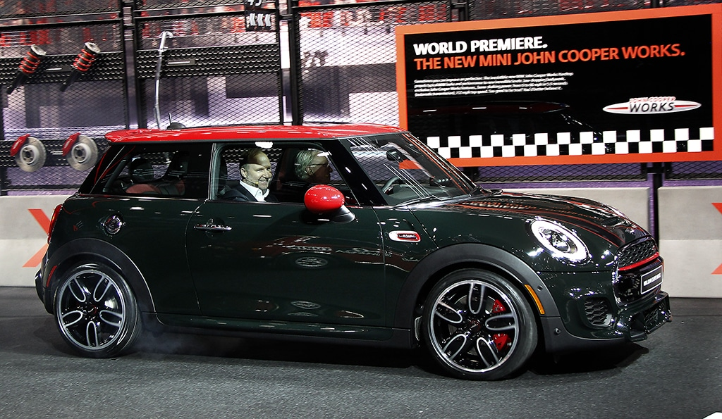 Mini S John Cooper Works Is Expected To Help The Brand Bolster Its This Year