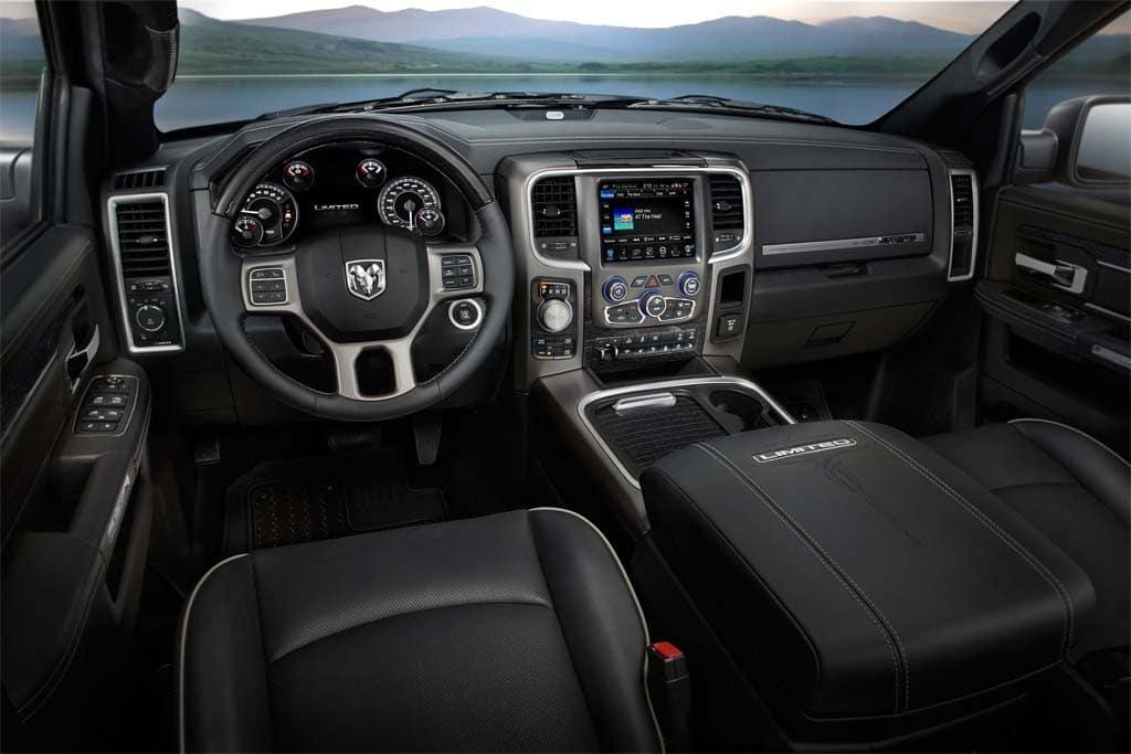 Ram Laramie Limited Interior on Next Generation Dodge Ram