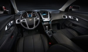 The Equinox gets a standard seven-inch-diagonal Color Touch radio (including Bluetooth phone connectivity) and rear-vision camera on L and LS models.