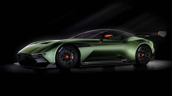 Aston Martin Takes to the Track with New Vulcan
