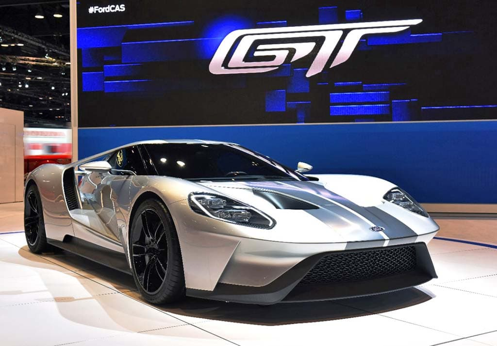 The New Ford Gt Makes Extensive Use Of Carbon Fiber