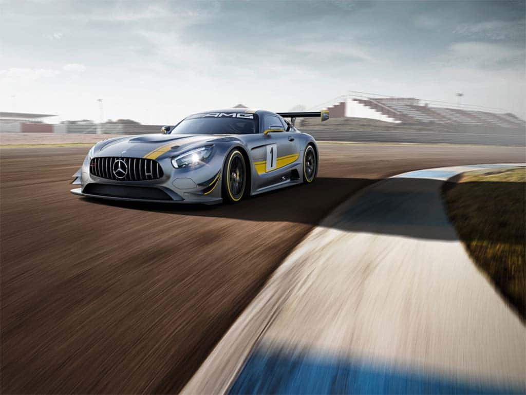 Mercedes Reveals Track-Ready AMG GT3