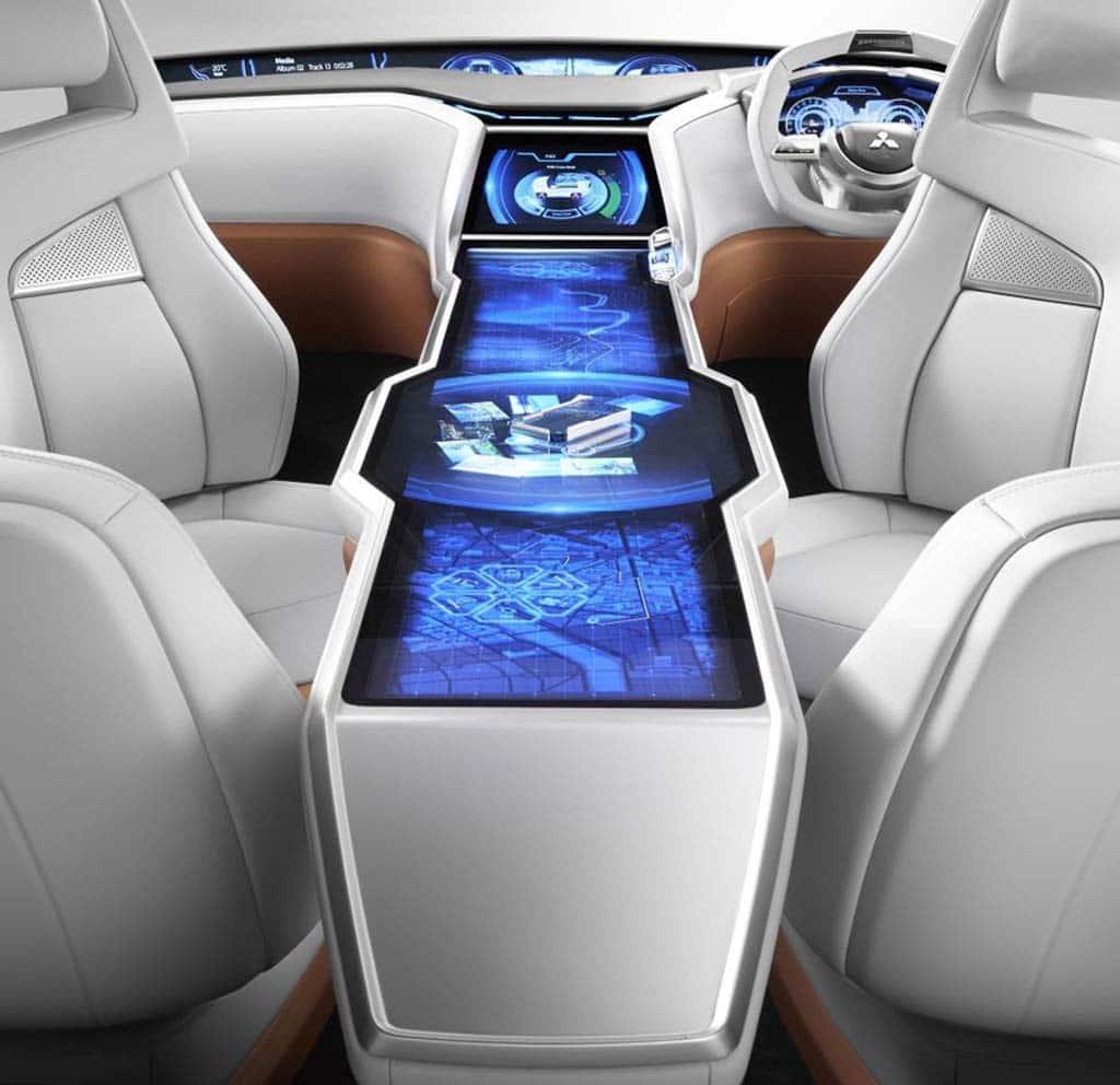 Mitsubishi Concept GC-PHEV Interior V3