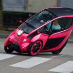 Toyota has been studying a number of extreme options, including the i-Road commuter car.