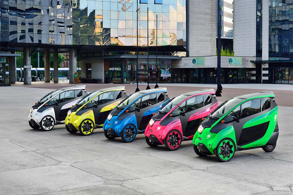 Toyota Putting its Quirky i-Road into Tokyo Carsharing Program