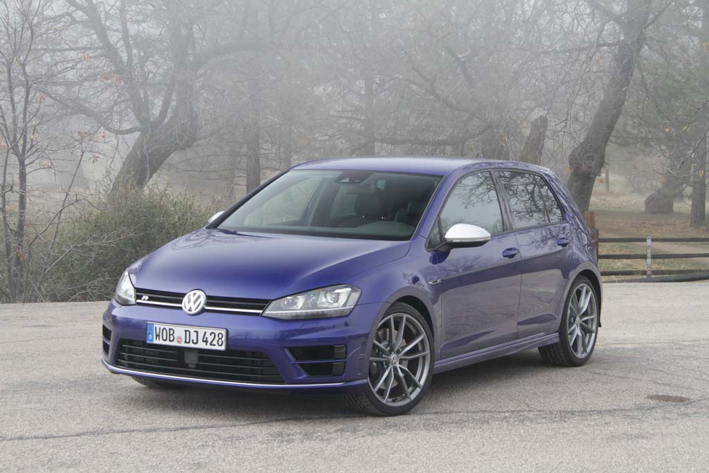 First Drive: 2015 Volkswagen Golf R