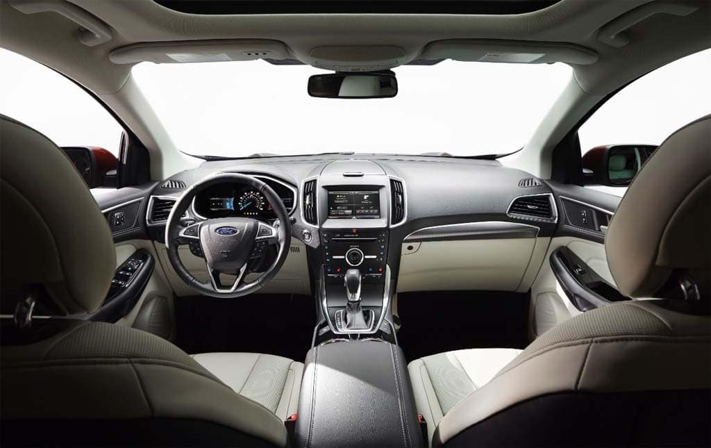 The  Edge Adds A Wide Range Of New And Updated Safety And Infotainment Technologies