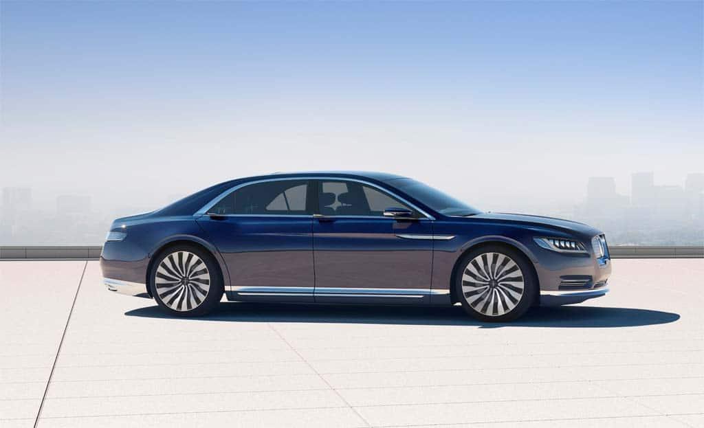 Born Again Lincoln Continental To Make Ny Auto Show