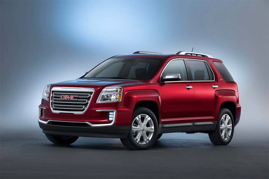 gmc updates terrain for ny auto show debut. Black Bedroom Furniture Sets. Home Design Ideas
