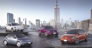 Volkswagen showed off four Beetle concepts at this year's New York Auto Show.