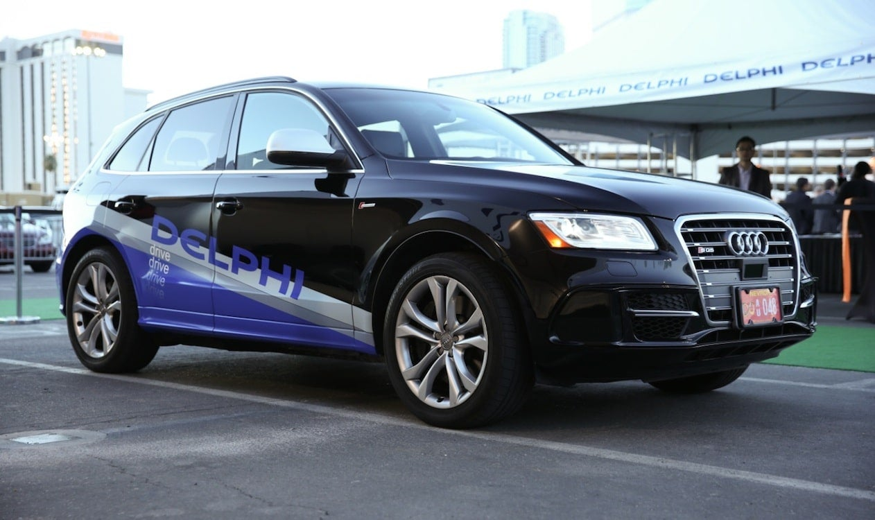 Delphi Shows Automated Driving System With SFtoNYC Trek Delphi - Audi sf