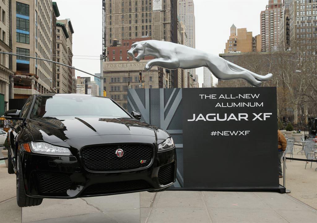 New Jaguar XF Gets Larger, Lighter, Faster